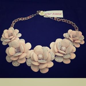 Betsey Johnson Marie Antoinette statement Necklace